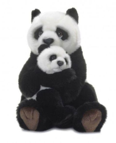 Großes Bild Panda-Bär Mutter